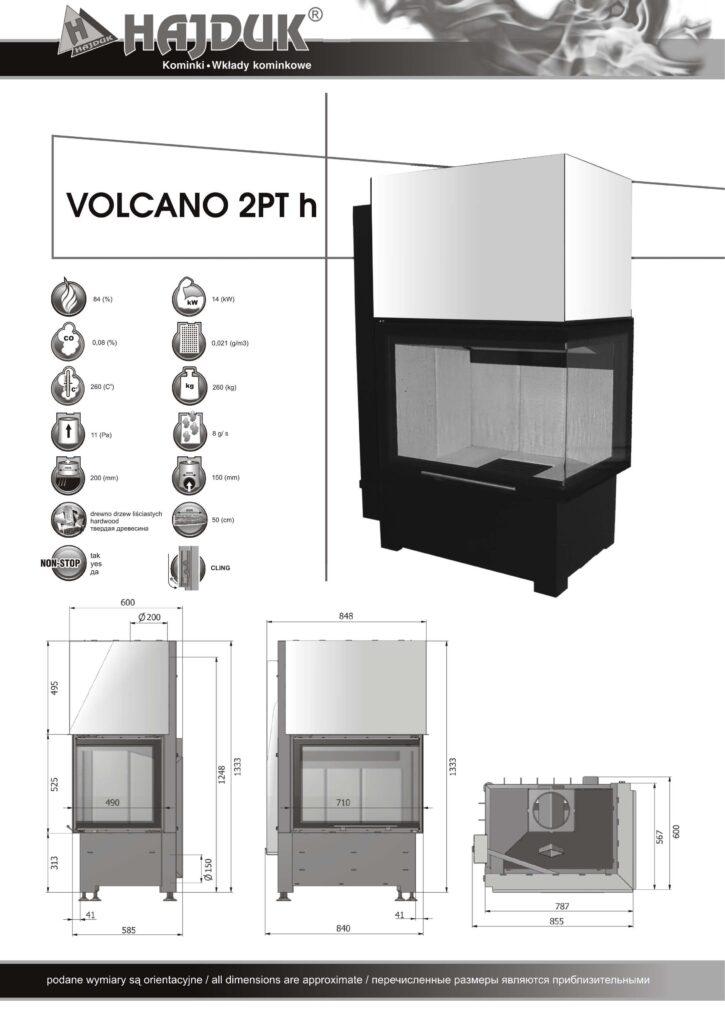 Volcano 2PTh - karta produktu